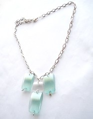 Mint green necklace (d'ekoprojects) Tags: recycled handmade jewelry ecofriendly handmadejewelry ecofashion ecochic upcycling recycledjewelry ecofriendlyfashion ecofriendlyjewelry upcycledjewelry