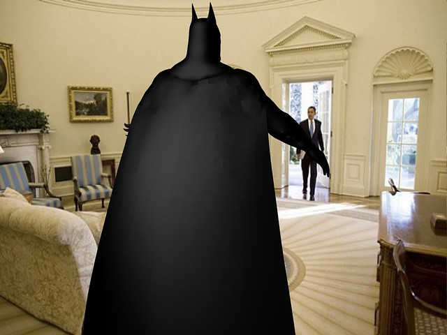 Batman In The Oval Office By Appointment With The President