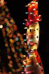 Joyeux Nol !   ( Merry Christmas ! ) (miles smile) Tags: christmas winter canada colors december bokeh couleurs hiver qubec nol qc southshore bonhomme dcembre montrgie monteregie scnedenuit lumiresdenol dcorationdenol tamron70200f28 sonya55