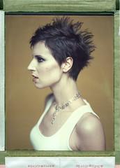 Jelena (Braca Nadezdic) Tags: girl studio 8x10 300mm expired sinar 809 polaroid809 polaroid8x10