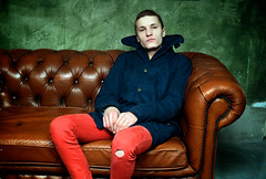 Henrijs (rolands.lakis) Tags: red portrait people fashion eyes dream latvia portret lakis henrijs rolandslakis