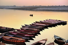 Varanasi Sunrise - India (Joao Eduardo Figueiredo) Tags: old india heritage water sunrise river religious nikon asia indian faith religion temples sacred varanasi spiritual shiva hindu hinduism pilgrimage banks ganges ghats benares ghat holycity uttarpradesh nikond3x bestcapturesaoi elitegalleryaoi mygearandme blinkagain flickrbronzetrophygroup flickrstruereflection2 rememberthatmomentlevel1 rememberthatmomentlevel2 rememberthatmomentlevel3 me2youphotographylevel1