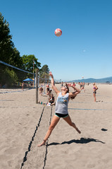 Beach Volley at Locarno Beach