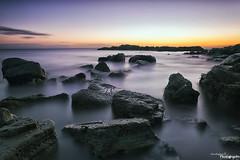 Sunrise At Whitburn (Dave Brightwell) Tags: longexposure seascape beach sunrise canon rocks le hitech redsnapper sunderland whitburn bwnd davebrightwell