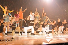 Skating and Gymnastics Cast with Fresh Beat Band