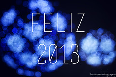 Feliz 2013 (Immaro Photography) Tags: christmas color art canon photography navidad luces bokeh happiness photoaday felicidad happynewyear felizaonuevo 2013 immarophotography feliz2013