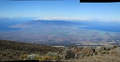 Haleakala National Park PANORAMA (#5355) (Kordian) Tags: usa west hawaii maui northamerica haleakalanationalpark noexif mp9 tripsvacations 201212