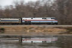 12-7564 (George Hamlin) Tags: railroad heritage train virginia 66 amtrak locomotive passenger 80 featherstone csx p42 carolinian