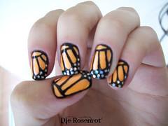 Unha decorada com borboleta (Designer de Unhas Letícia Medeiros) Tags: borboleta unhadecorada