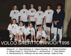 1998 Meisjes B4 - Tr. Aafje de Vries