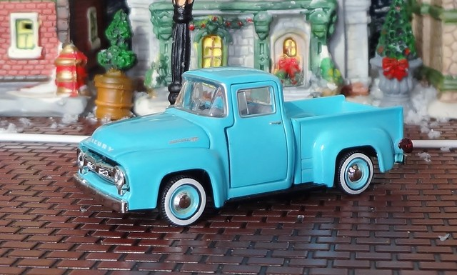 mercury pickuptruck 1956 m100 diecast 164scale m2machines