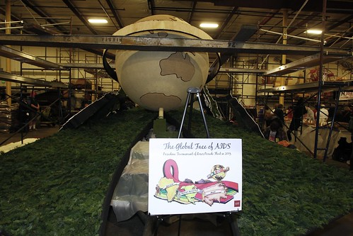AHF 2013 Rose Parade 'The Global Face of AIDS' - Irwindale, CA