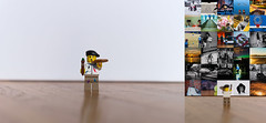 Day 366 - An Artist's Rendition (dennisdasfoto) Tags: oneaday toy diptych artist lego canvas painter photoaday minifig spielzeug leksak pictureaday minifigure maler kanvas leinwand project365 konstnr mlare dt50mmf18sam