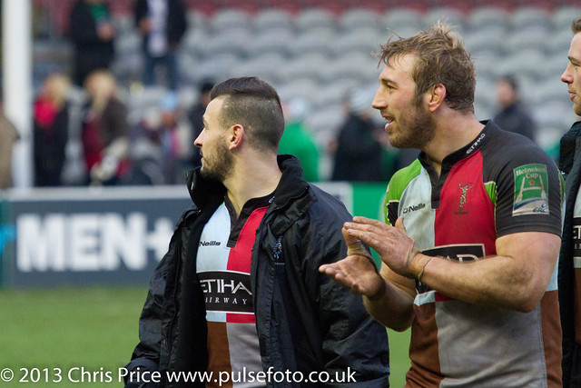 Chris Robshaw and Danny Care