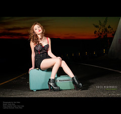 "3/52 "" On the road "" (carolina hdez1) Tags: sunset portrait sky lights nikon retrato paisaje carolina tijuana weeks puesta 52 strobist d300s sb700 carolinahernandez nikond300s"