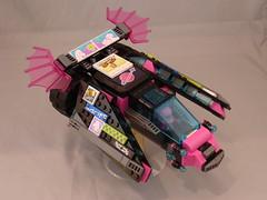 Pinktron GARC 4 (TFDesigns!) Tags: pink lego space racer garc pinktron