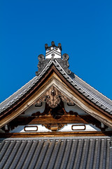 Traditional Japanese Style Gable  (olvwu | ) Tags: roof japan landscape temple japanese kyoto buddhist traditional historic   honganji gable  traditionalarchitecture nishihonganji historicsite historicbuilding kyotocity   jungpangwu oliverwu oliverjpwu  purelandbuddhism kyotoprefecture  olvwu  jungpang westerntempleoftheoriginalvow onissan