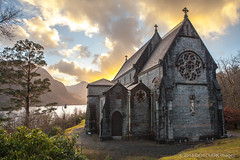 Catholic Church of St Mary and St Finnan at Glenfinnan (Rich Clark Images) Tags: mountains church beautiful clouds landscape scotland highlands quiet scottish calm catholicchurch serene loch catholicism breathtaking lochshiel glenfinnan midges clans jacobite bonnieprincecharlie churchofstmaryandstfinnan richclark richclarkphotography richclarkimages