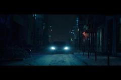 Sleep, Now (- Loomax -) Tags: street blue winter snow paris car night cinematic cinematicphotography