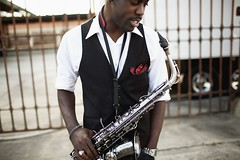 Joshua Thompson (davidbrisco) Tags: life street portrait people urban la cool downtown lifestyle dope swag saxophone gentleman
