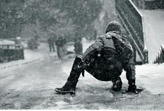 294 - Incomiiiing! (Ata Foto Grup) Tags: city winter snow cold car turkey children child play türkiye kay istanbul cocuklar çocuk wintersports soğuk kış kaymak oyun şehir kışsporları