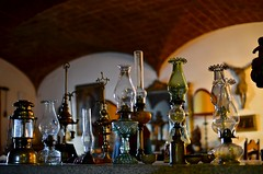 The finest glass (Paulo N. Silva) Tags: reflections antiques lamps oillamps glasslamps petrollamps