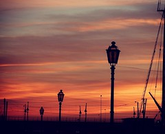 Overjoyed (pierfrancescacasadio) Tags: sunset tramonto streetlamp rs uploaded:by=flickrmobile flickriosapp:filter=nofilter