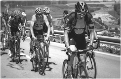 The Leaders (VandenBerge Photography) Tags: tourdefrance froome cycling switzerland schweiz sport summer mountain coldelaforclaz 2016 canon ef100mmf28lmacroisusm primelens blackwhite mono
