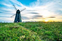 Windmill on rottingdean coast (M 2Shea) Tags: windmill rottingdean sunset brighton edit a7rii zeiss batis 25mm long exposure