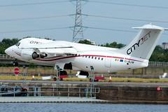 Cityjet - British Aerospace Avro RJ85 - EI-RJW  London City Airport (paulstevenchalmers) Tags: londoncity london lcy airport