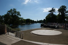 All the World's a stage (jenkos1980) Tags: stratford stratforduponavon river riveravon boat rowingboat