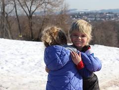 Snow babies (tatyanak2016) Tags: cute sledding cold babies kids children snow