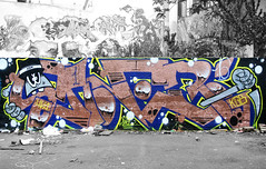 (SaNeR hVa KgB) Tags: aerosol art rapide tag terrain typo mur couleur bombe colors ptdq paris peinture painting perso lettrage letters lettres lettering kgb hva handstyle graff graffiti france saner spot quicky writing writer wildstyle wall can