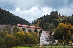 DB REGIO - Ravenna Schlucht Viadukt (Giovanni Grasso 71) Tags: ravenna schlucht viadukt db regio br143 locomotiva elettrica nikon d700 giovanni grasso titisee