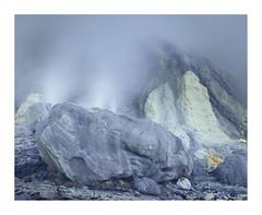 Kawah-Ijen (ciollileach) Tags: kawahijen volcano active sulphur mystery blue acid geography geology java