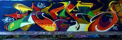 graffiti amsterdam (wojofoto) Tags: amsterdam graffiti streetart wojofoto wolfgangjosten nederland netherland holland amsterdamsebrug hof flevopark