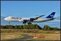 N850GT Atlas Air - Panalpina (Bob Garrard) Tags: n850gt atlas air panalpina cargo freighter bpeing 747 748 7478f 748f amc panc