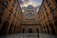 Santa Maria de Montserrat monastery in the Montserrat Mountain in Catalonia, Spain (CamelKW) Tags: barcelona catalonia spain santamariademontserrat monastery montserrat mountain
