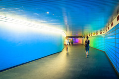 Utrecht Centraal Station (tommyferraz) Tags: utrecht centraal station train transport commute hall path walk access colour lights saturation netherlands