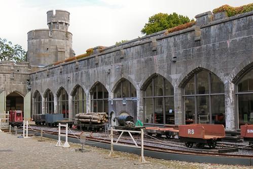 26th August 2016. The Railway Museum at Penrhyn Castle, Bangor, Gwynedd, North Wales.