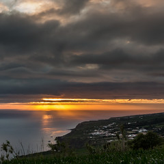 Sunset San Miguel (*hassedanne*) Tags: azores sunset portugal sanmiguel clouds sky 10