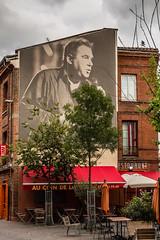 Claude Nougaro - Toulouse - [Haute-Garonne] (Thierry CHARDES) Tags: chanteur hommage sigma1750mmf28 pote claudenougaro france toulouse hautegaronne