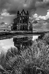 holy place (pamelaadam) Tags: geolat54487894 geolon0605609 thebiggestgroup fotolog digital bw august summer 2016 holiday2016 building faith spirituality abbey kirk whitbyabbey whitby engerlandshire