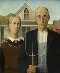 American Gothic (Eye magazine) Tags: 1930 20th admin agriculture american artmovements beaver board brdgmn century countrylife couple daughter dwelling essentialguide family farm farmer farmhouse farming farmstead finearts gothic grant group grower hires house illustration iowa midwest midwestern oil painting pastoral plain portrait portraiture puritan ranch realism regionalism regionalist residence revival rural rurallife rustic science simple spinster tiller us unitedstates vernacular victorian virtue webdescription wood
