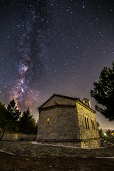 Milky Way rises over the church (Vagelis Pikoulas) Tags: vilia greece landscape night nightscape canon 6d tokina 1628mm full fullframe frame space galaxy universe stars star long exposure september 2016 autumn
