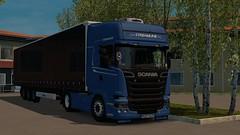 (DaveyY PhotoS) Tags: ets2 euro truck simulator 2 euro6 scania streamline topline krone promods france super