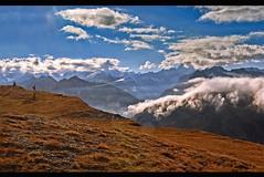 Alpine panorama from the Furka Pass area. No. 3118. (Izakigur) Tags: furka furkapass grimsel switzerland myswitzerland musictomyeyes suiza suisia suizo swiss dieschweiz d700 nikond700 nikkor ilpiccoloprincipe thelittleprince svizzera europe coldplay sunset twilighttime hiking lepetitprince izakigur valais uri bern glacier