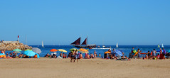 Beach L'Estartit (Meino NL) Tags: beach beachestartit estartit lestartit costabrava catalunya cataloni espaa espagne spain spanje strand middellandsezee mediterranean