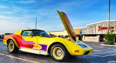 Crayola Color Me Chevy Corvette (Chad Horwedel) Tags: crayolacolormechevycorvette chevycorvette chevy chevrolet corvette classic car custom turbo sandclubsportsbar downersgrove illinois