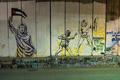 Wall Graffiti (stefanos-) Tags: travelling backpacking palestine holyland christianity wall graffiti nazareth jesus bethlehem westbank